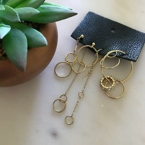 Free People • Boho Gold Earrings